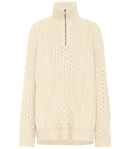 Exclusive to mytheresa.com – wool and cashmere sweater