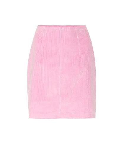 Phoebe corduroy miniskirt