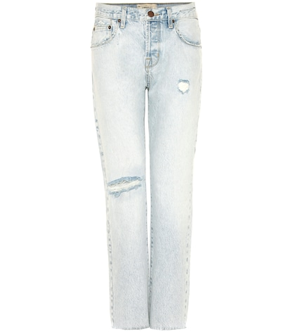 currentelliott female the crossover distressed cropped jeans
