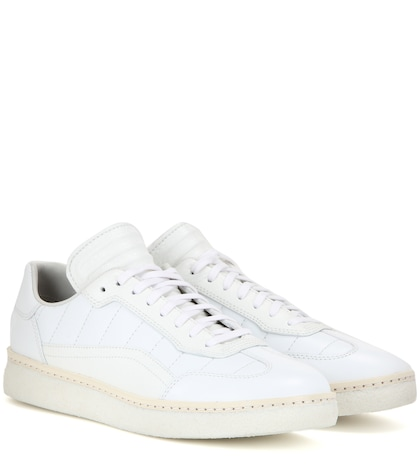 alexander wang female eden leather sneakers