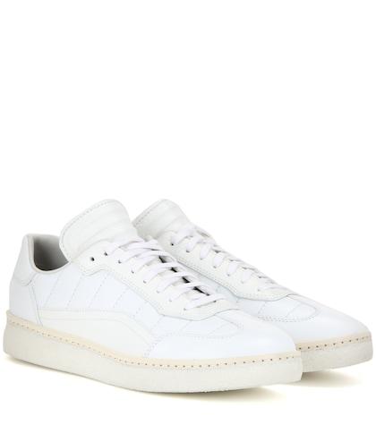 alexander wang female eden leather sneakers