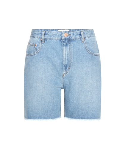 isabel marant etoile female cedar denim shorts