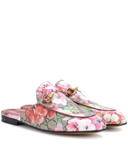 Princetown GG Blooms slippers