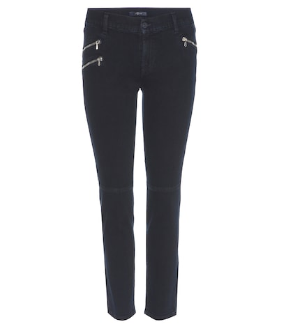 7 for all mankind female roxanne crop slimfit jeans