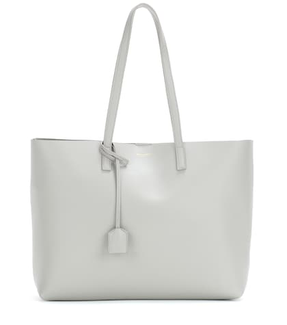 saint laurent female leather shopper