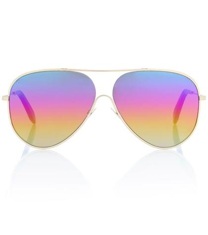Loop aviator sunglasses