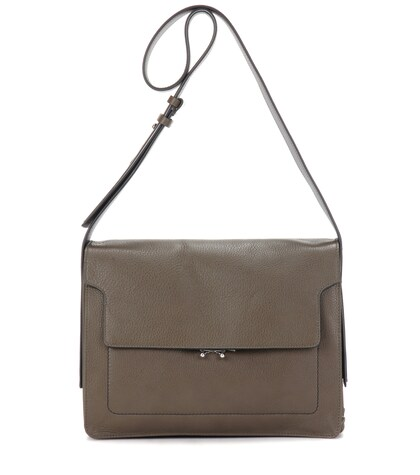 Soft Trunk Leather Shoulder Bag