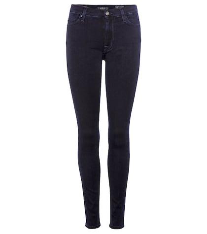 High Waist Deep Blue 7FAM Jeans