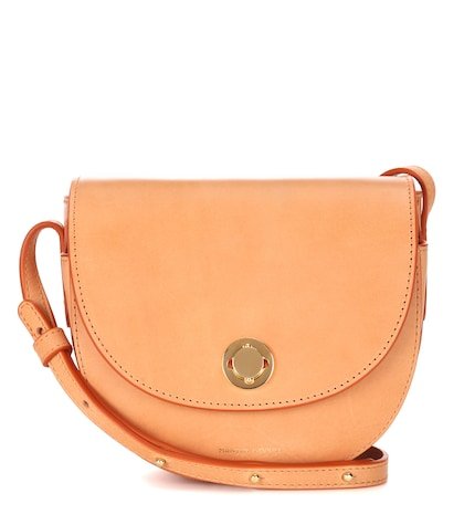 Mini Saddle leather shoulder bag