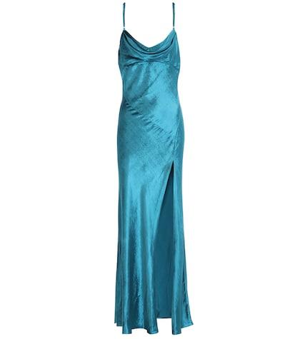 Leticia velvet dress