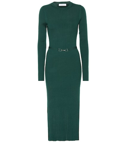 Luisa wool midi dress