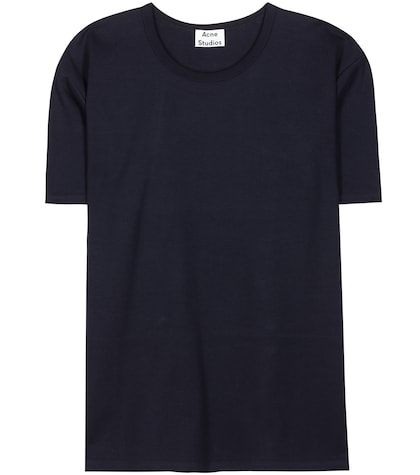 acne studios female niagara magic printed cotton tshirt