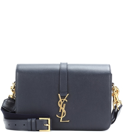 saint laurent female classic medium monogram universite leather shoulder bag