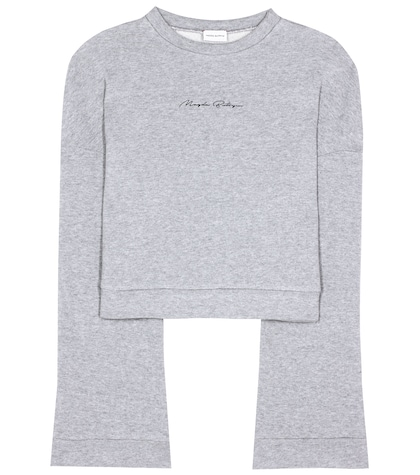 magda butrym female jose cotton sweatshirt