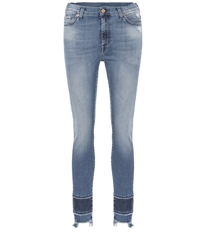 The Skinny Crop jeans