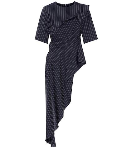 Pinstriped wool top