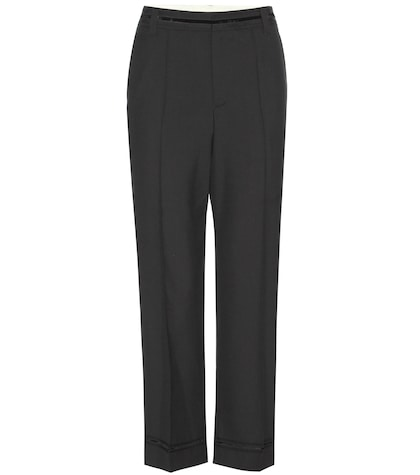 marc jacobs female wool trousers