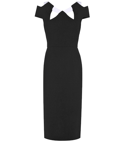 roland mouret female atkinson wool dress