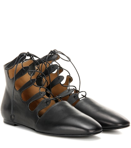 Dimitri leather ankle boots