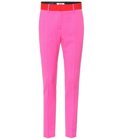 Crêpe trousers