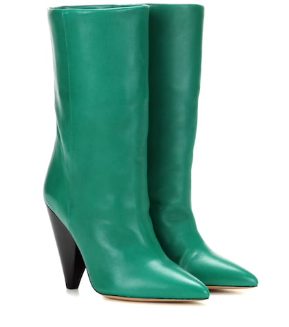Lexing Leather Boots