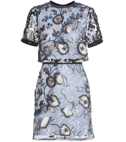 Florentine Lace Mini Dress