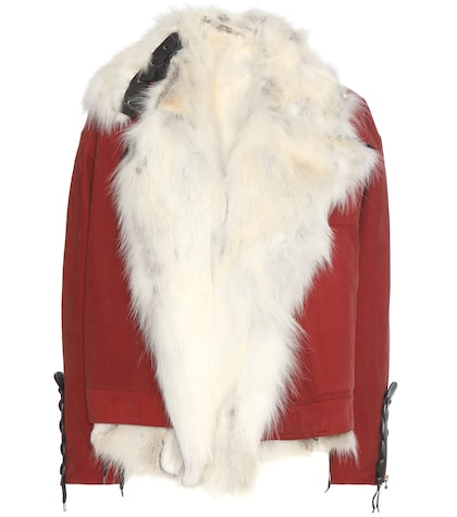 anthony vaccarello female 250960 furlined parka