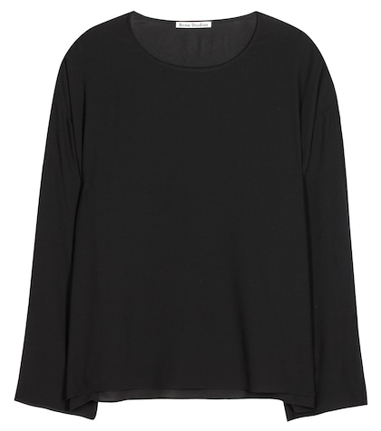 acne studios female brenna top
