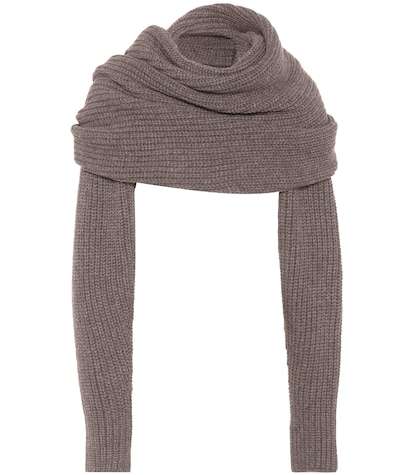 agnona female wool and cashmere scarf