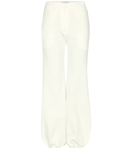 jw anderson female cotton trousers
