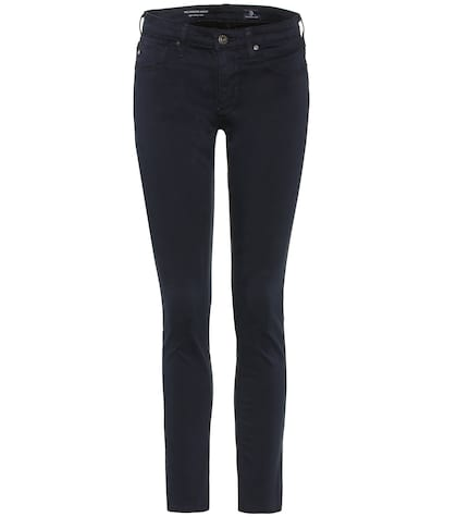 ag jeans female the legging ankle cottonblend skinny jeans