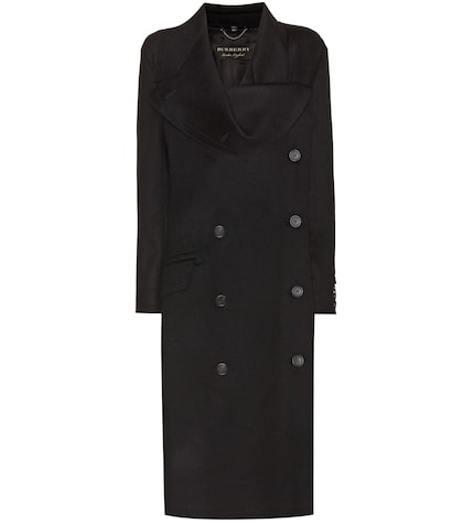Asymmetric Wool Coat