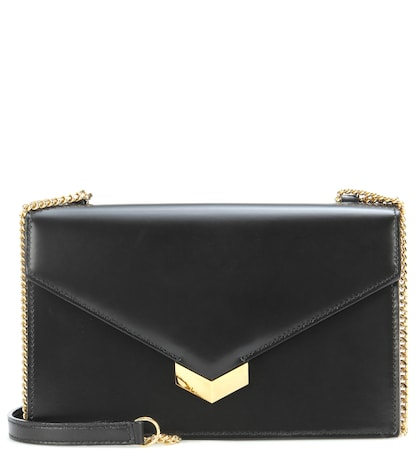 jimmy choo female leila shoulder bag
