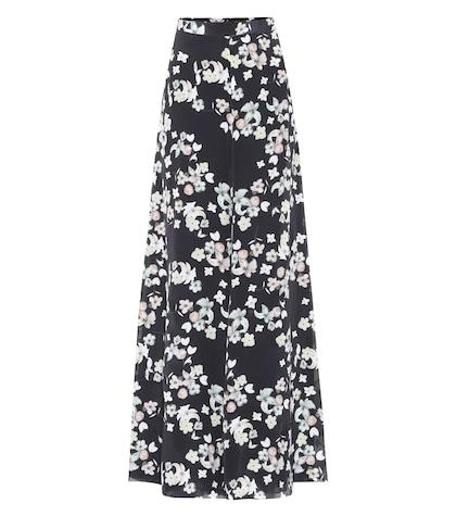 Exclusivité Mytheresa - Pantalon en soie imprimée