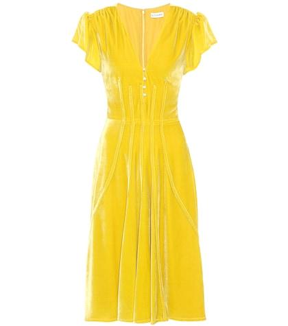 Camilla velvet dress