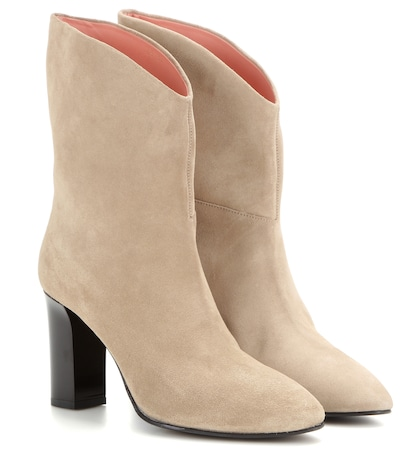acne studios female ava suede ankle boots