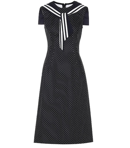 dolce gabbana female cotton and wool dress