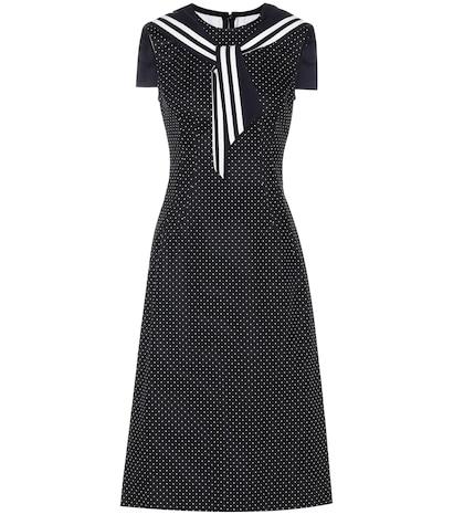 dolce gabbana female cotton and wool dress