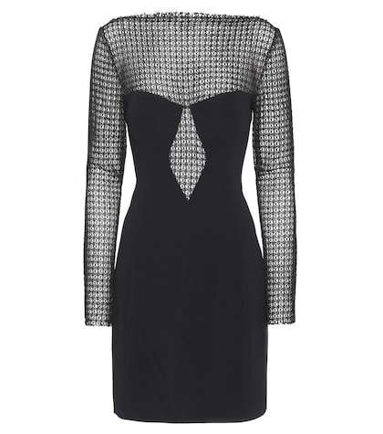 alexander wang female longsleeved crepe dress