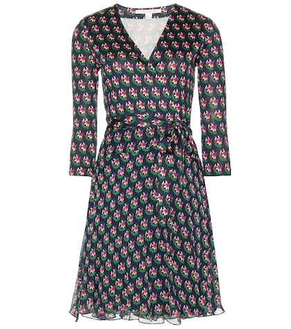 Irina Printed Wrap Dress