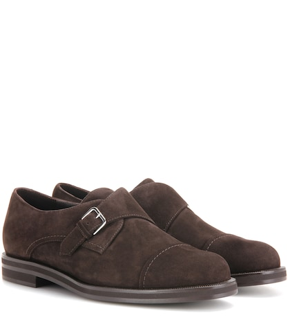 Meryl suede monk shoes