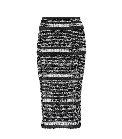 Gunby tweed pencil skirt