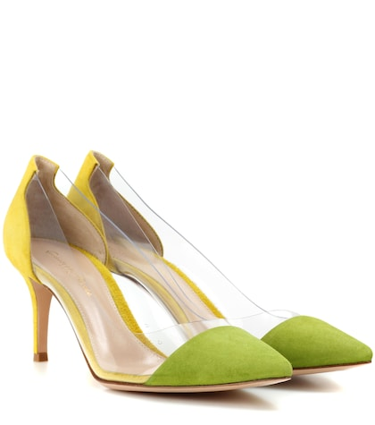 Plexi 70  Suede Pumps