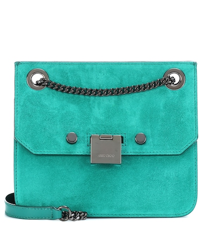 Rebel suede crossbody bag