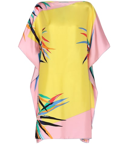 Printed Silk Cover Up