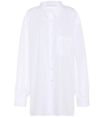 X Brioni Classic shirt in cotton
