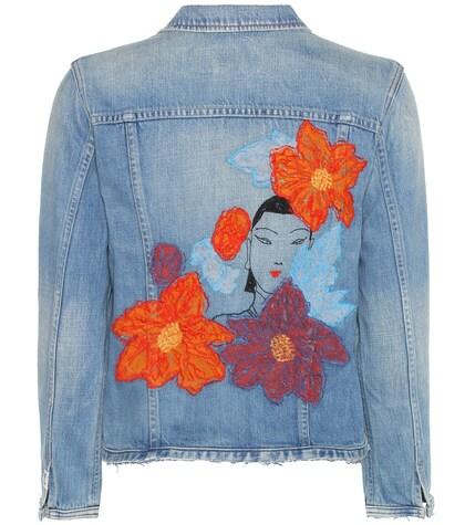 Dakota embroidered denim jacket