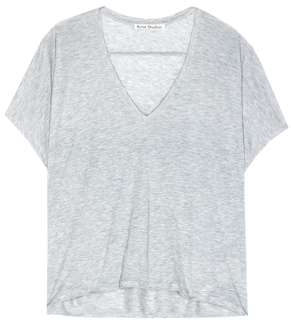 acne studios female kileo jersey top