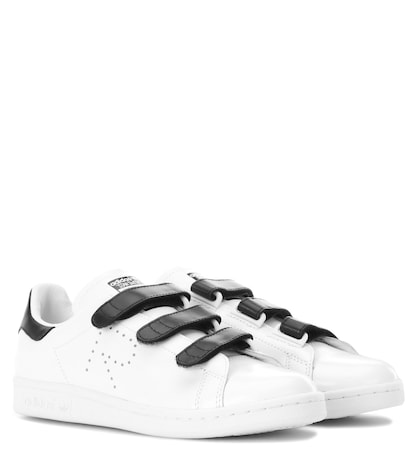 adidas by raf simons female 45883 stan smith leather sneakers