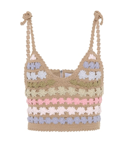 Maaia crochet crop top